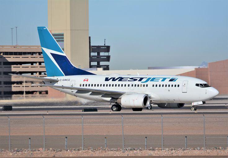 https://flic.kr/p/DYhSH6 | Westjet Airlines Boeing 737-600 arriving into Phoenix Sky Harbor (KPHX) | Aircraft make: Boeing Aircraft model: 737-600 Aircraft registration: C-GWCQ Location: Phoenix Sky Harbor International Airport (KPHX)