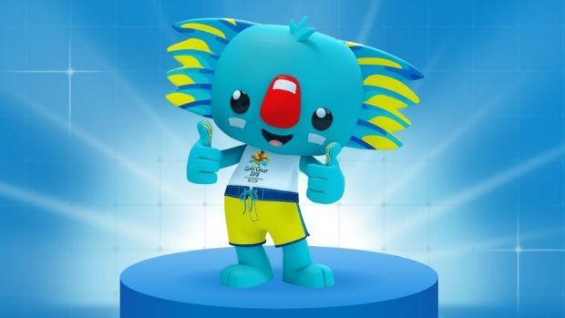 Borobi the surfing koala has been revealed as the official mascot for the 2018 Gold Coast Commonwealth Games.