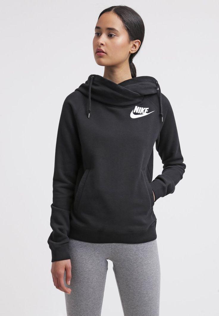 Nike Sportswear RALLY FUNNEL - Genser - black - Zalando.no