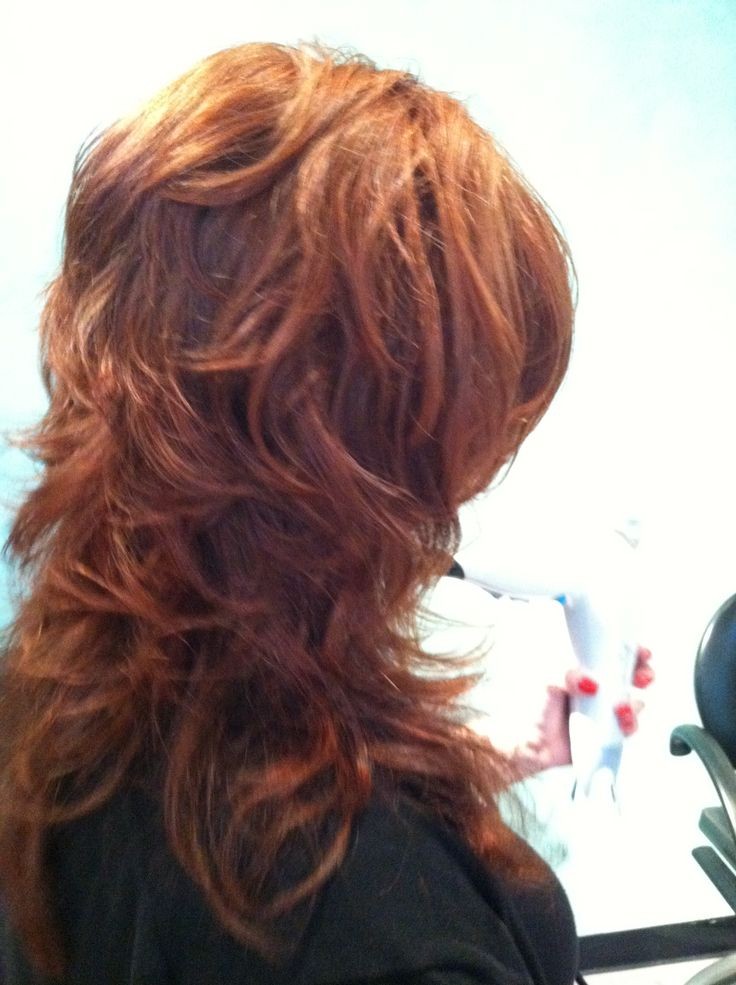 Back View Of Paula S Short Layers On Long Hair Hair By