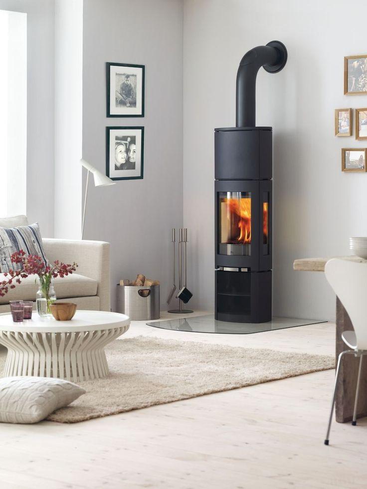 Noorse houtkachel Jøtul F 371 High Top Advance met gratis Heat Storage System #houtkachel #scandinavisch #interieur