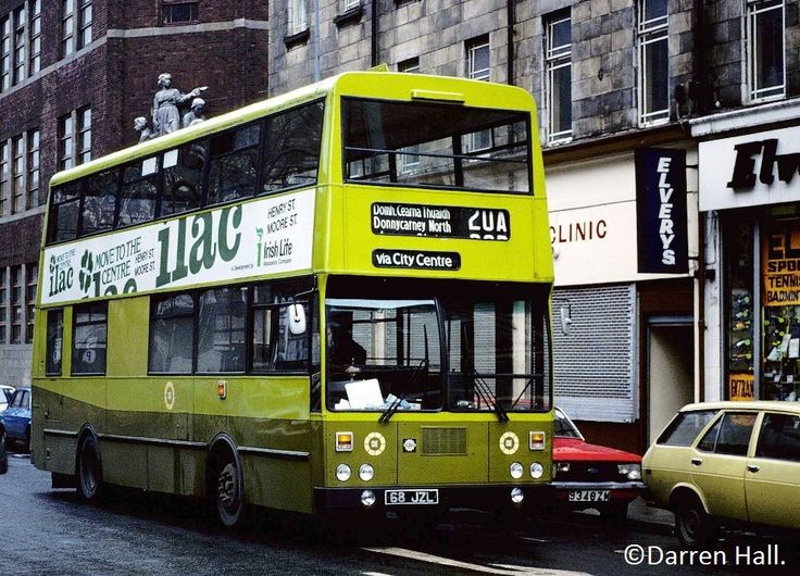 CIE Bombardier KD68 On Route 20A To Donnycarney North