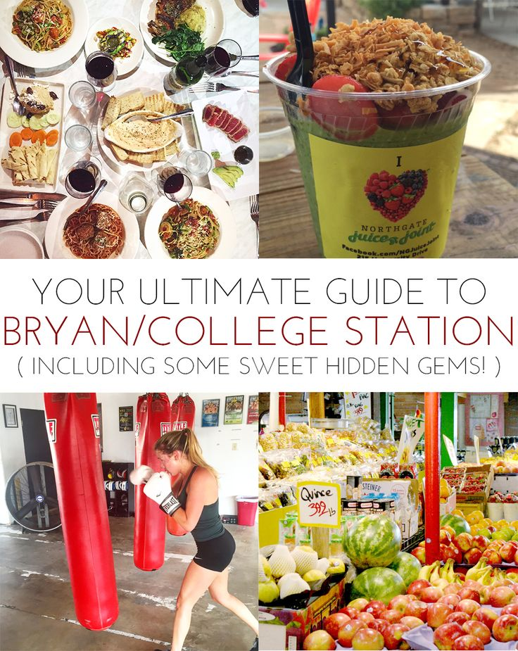 YOUR ULTIMATE GUIDE TO BRYAN/COLLEGE STATION: Including Some Hidden Gems Here in Aggieland! | www.hustleandhalcyon.com