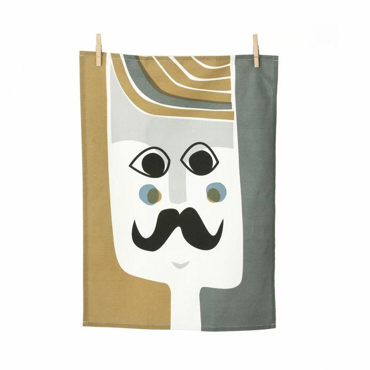 Ferm Living Geschirrhandtuch Mr. Tea Towel