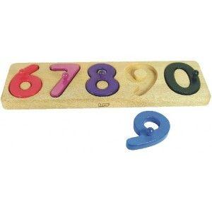 Prezentowaliśmy wcześniej Sorter liczb od 1-5, dziś od 6-10.   Z tą zabawką poznawanie liczb od 6 do 10 stanie się dla Twojego dziecka prawdziwą przyjemnością. Sprawdź na czym polega zabawa. Zabawka dla dzieci już od 1,5 roku.