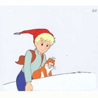Nils Holgerson_027 anime cel ニルスのふしぎな旅セル画