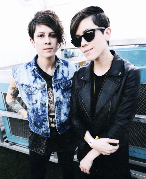 Tegan and Sara photographed by Tim Mosenfelder