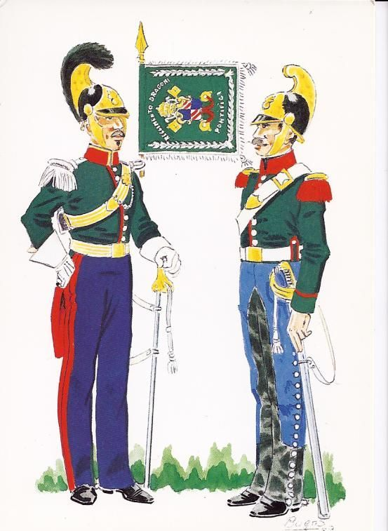 Risultati immagini per soldati pontifici