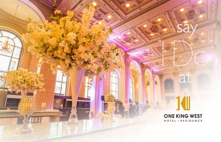 Wedding Venues Toronto | One King West Hotel & Residence