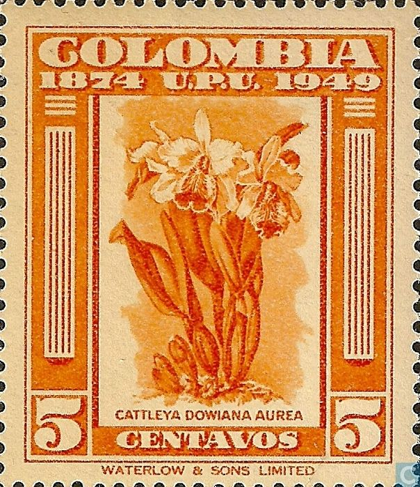 Colombia [COL] - UPU 75 years 1950