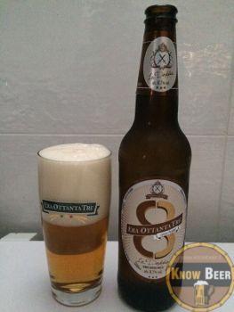 Birra La Doppia del Birrificio Era 83. Birra italiana prodotta a Roma. Di colore biondo e a bassa fermentazione. Consigliamo di provarla con pollo in agro-dolce, dolci secchi e dessert.