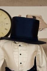 """Baby boy topper, made out of elegant dupioni silk, matching the """"Chester"""" suit.  http://www.petitecoco.ro/shop/en/home/21-chester-hat.html"""