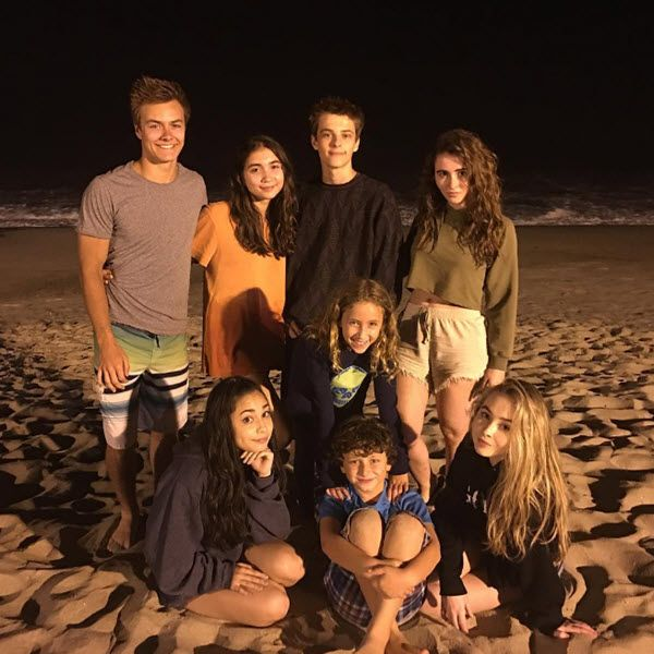 It was really nice to see photos of the cast of Disney Channel's Girl Meets World hanging out over the weekend at the beach.  August Maturo…