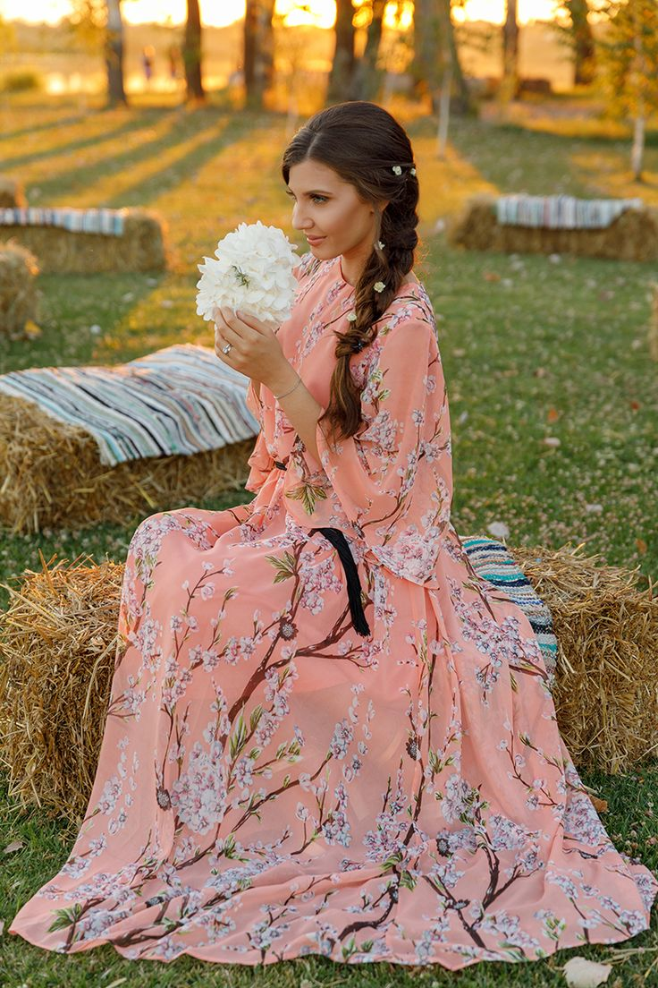 In love with maxi floral dresses and this one from Girls on Film is pure heaven. See more pictures of it and this amazing sunset here, on my blog: http://larisacostea.com/2017/08/summer-sunset/