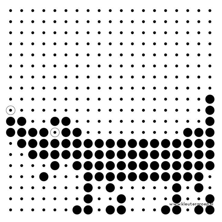 Jip en Janneke donkere kralen/ kopie in zwart/wit