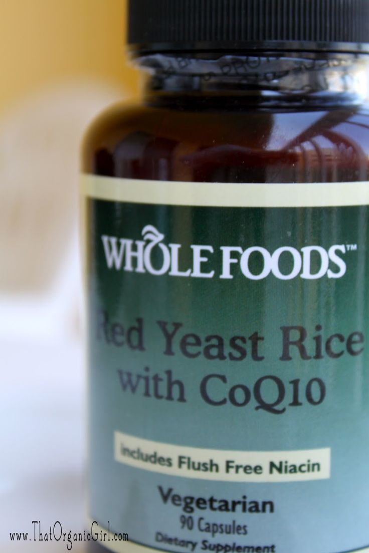 Red Yeast Rice - lower cholesterol naturally