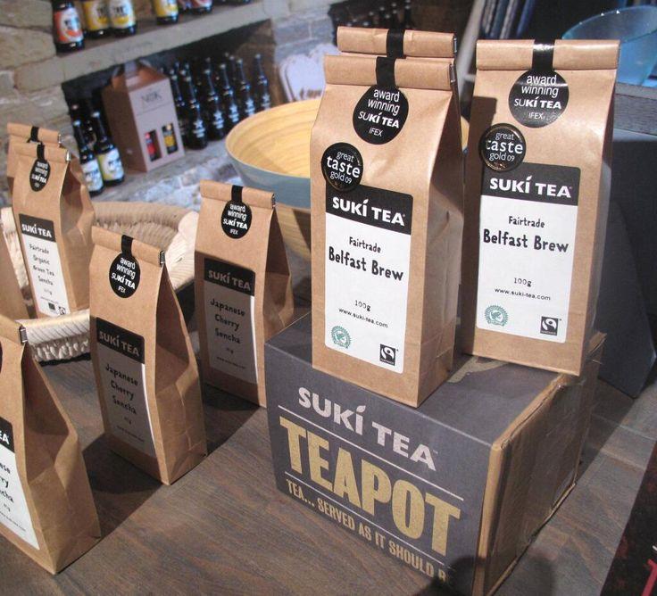 A sneak peak of our new Suki Tea range including Earl Grey Blue Flower, the UK's first TRIPLE CERTIFIED tea (Fairtrade, Organic, Rainforest Alliance Certified) #Fairtrade #Sukitea #Organic #RainforestAlliance