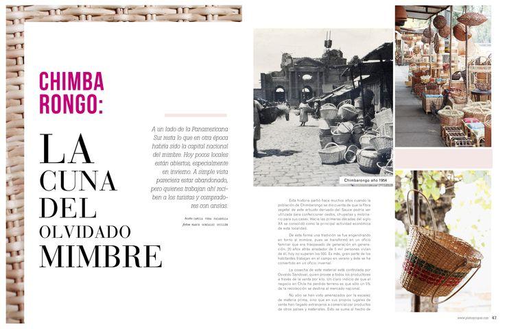Revista Platos&Copas // Vamos arando: La cuna del olvidado mimbre