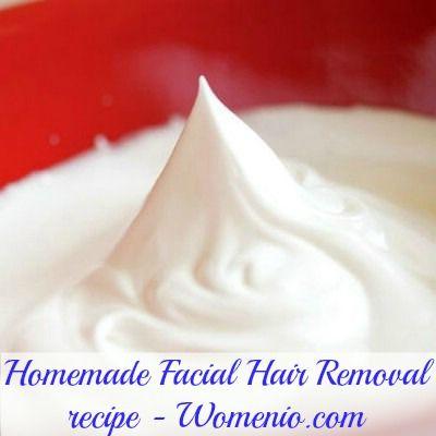 Facial hair removal: egg white, cornmeal, and sugar.Eggs White, Beautiful Recipe, Homemade Hair, Facials Hair, Beauty Recipes, Homemade Recipe, Hair Removal, Removal Recipe, Homemade Facials