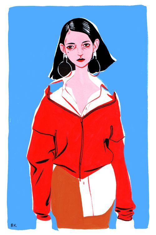 Bijou Karman illustration