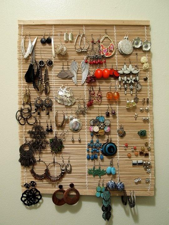 Earring Organization!