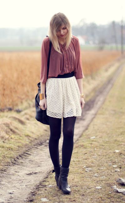 //: Fashion, Inspiration, Flowy Skirts, Style, Clothes, Short Flowy, Outfit, 26 Photos