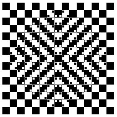 Wavy Lines Illusion. Are these lines straight and parallel?  Use a straight edge to test what you see.