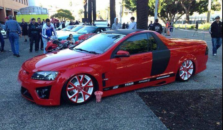 Amazing Holden ute :)