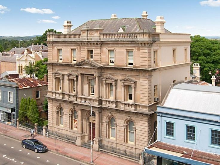 'Mansfield House' 315 High Street, Maitland, NSW 2320 - originally a CBC Bank