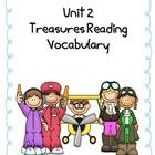 This file compliments 4th grade Treasures Reading Series vocabulary. This file is for a matching game.    It includes vocabulary for the following st...