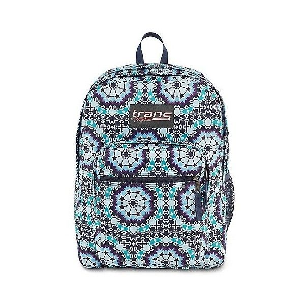 "Trans By JanSport "" SuperMax Backpack ($28) ❤ liked on Polyvore featuring bags, backpacks, blue, blue backpack, knapsack bag, blue bag, jansport rucksack and jansport daypack"