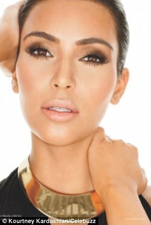First glimpse of Kardashian kosmetics as Kim, Kourtney, and Khloe strike a pose for their new Khroma Beauty line