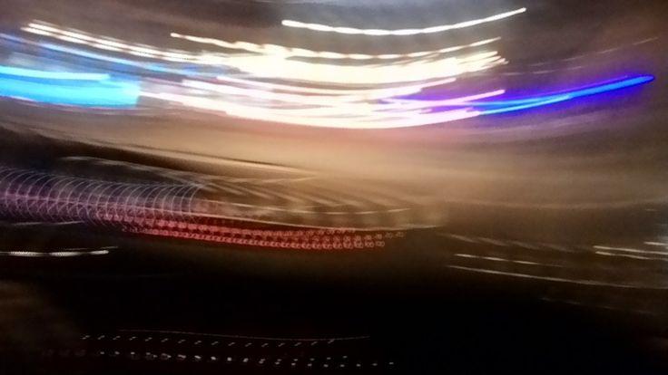 NIght electro light blur magic by Yu Polch