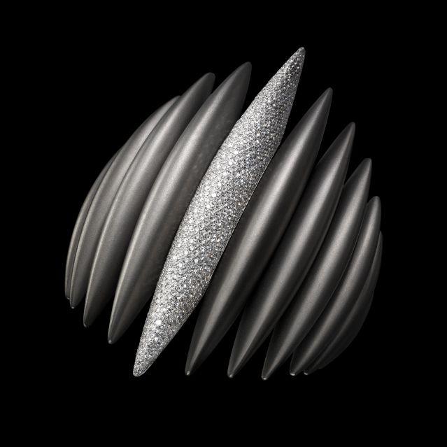 "Massimiliano Bonoli - Winner ""Couture Design Awards 2010"" #titanium #diamonds #jewel"