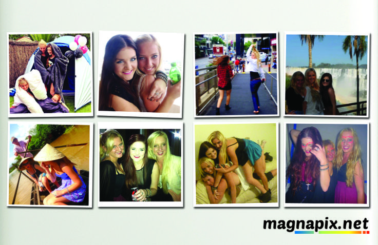 Fridge Magnets, Friends, Camping, Party Time - Order Now at http://magnapix.net/
