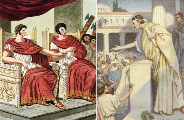 During the days of the Roman Republic two consuls were elected. They served one year before they were replaced. If a consul died during his term (not uncommon when consuls were in the forefront of battle) or was removed from office, another would be elected.