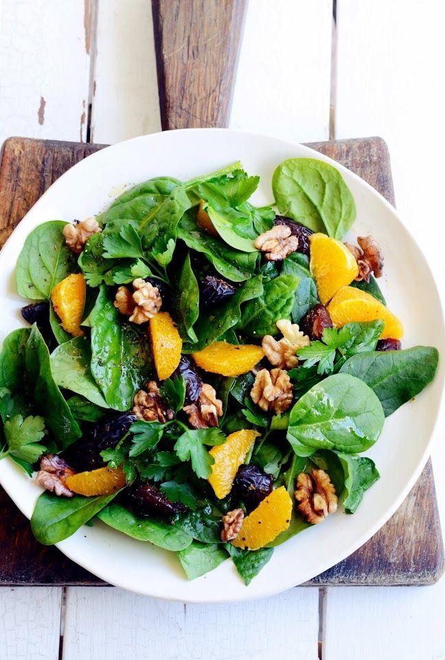 Herfst Salade'S morgens,' s middags of Night SaladeOmmmmm Nom Nom Bruine rijst Salade met gebakken pompoen, avocado en HummusLelijke Mooie Tomatensalade (wees niet bang van de vreemde Ones)'Gala' Garnalen, Mango, Avocado