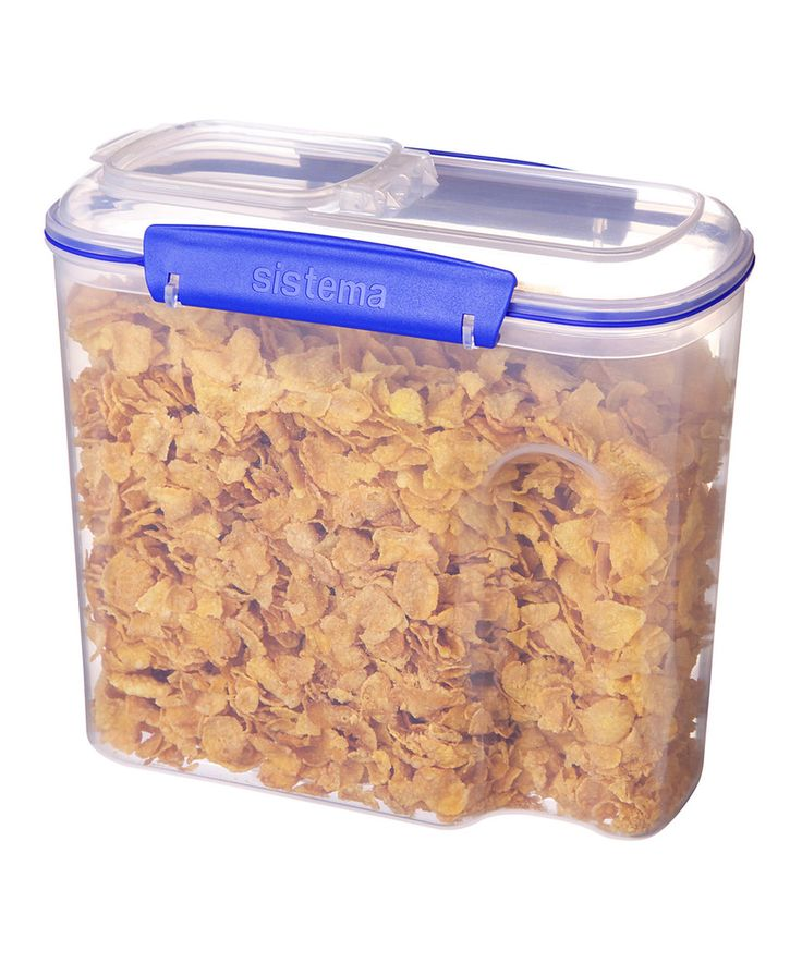 Look what I found on #zulily! Sistema 94-Oz. Cereal Container by Sistema #zulilyfinds