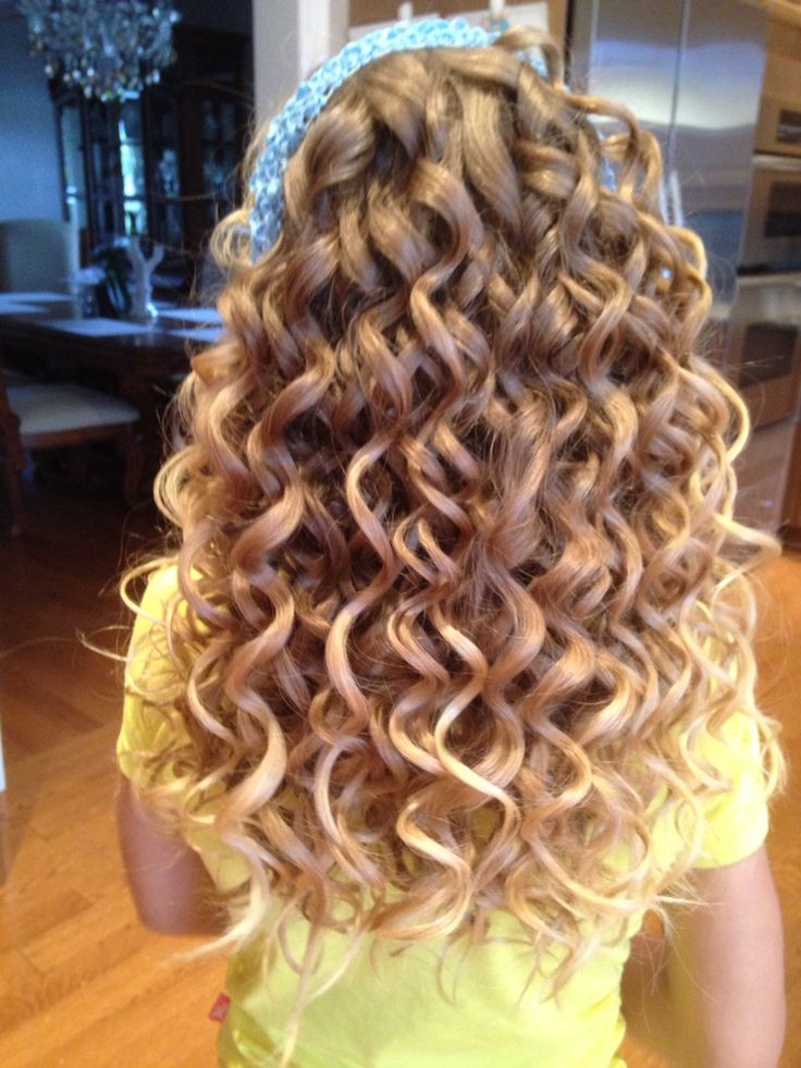 25 Best Ideas About Spiral Curls On Pinterest Perming