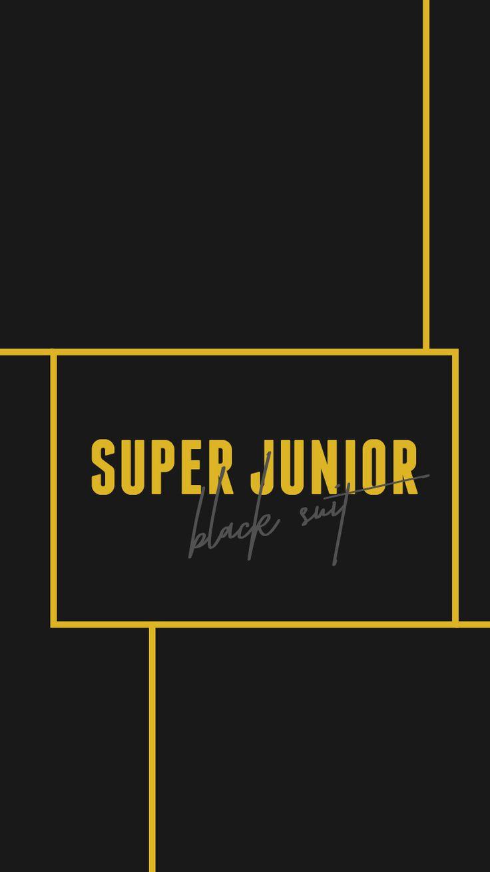 Super Junior Black Suit lockscreen wallpaper kpop