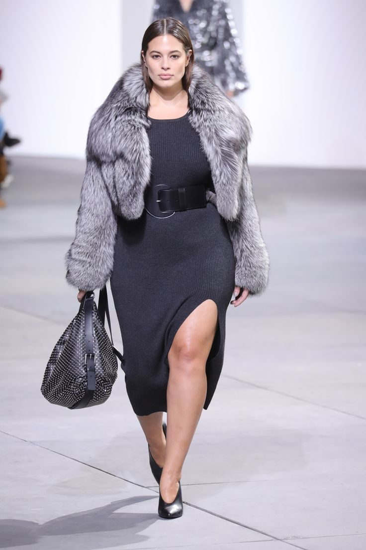 For the First Time in History, A Plus-Sized Model, Ashley Graham, Walked at Michael Kors