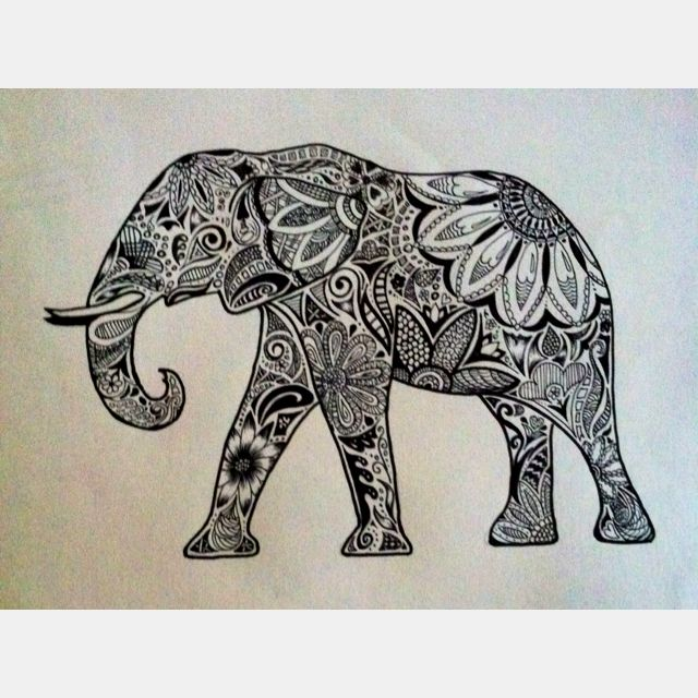 Because you can never have too many pieces of elephant art