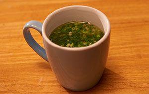 創味シャンタンの即席スープ