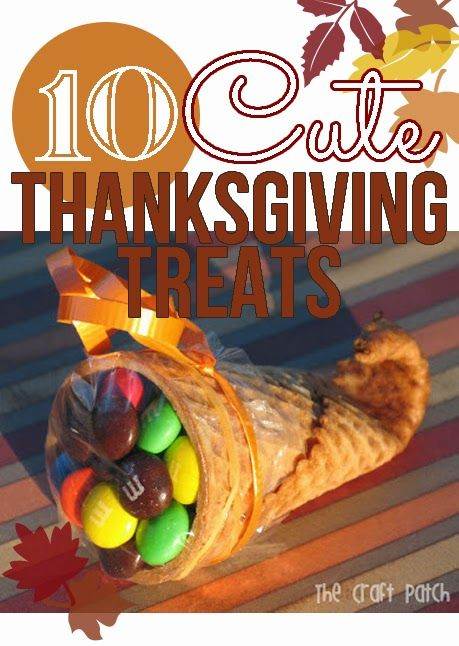 Ten Cute Thanksgiving Treats