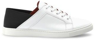 Liebeskind Berlin Leather Sneaker With Elastic Back.