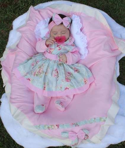 302bf9eee Saida Maternidade Para Meninas - Enxoval De Bebê Menina - R$ 149,90 em Mercado  Livre