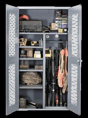 Secureit Tactical Gun Cabinet Model 2500 Gun Storage