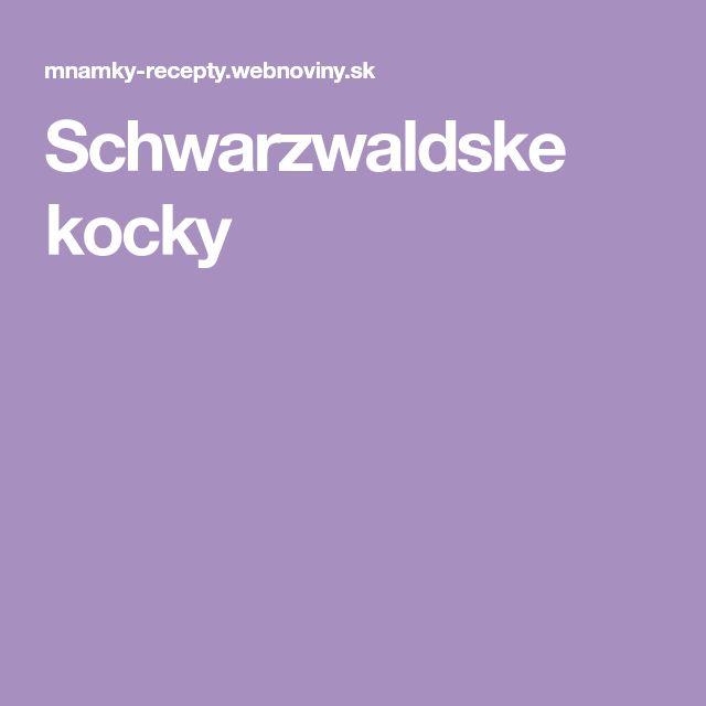 Schwarzwaldske kocky
