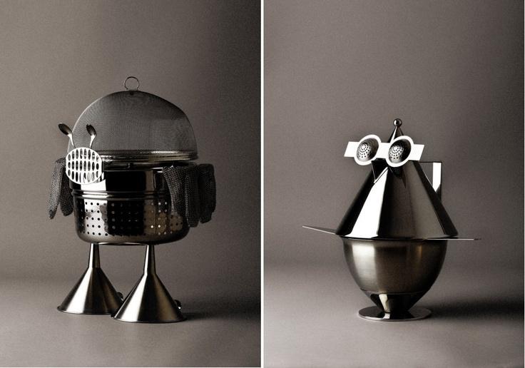 Kitchen robots. Omar Sosa.