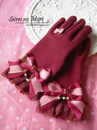 Seirei no Mori Crown Bow Gloves
